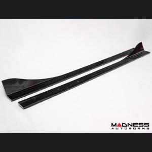 Fiat 124 Side Skirts - Carbon Fiber - Estremo