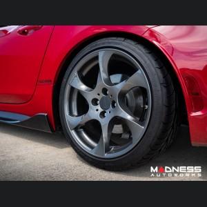 Fiat 124 Spider Side Skirts - Carbon Fiber - Estremo