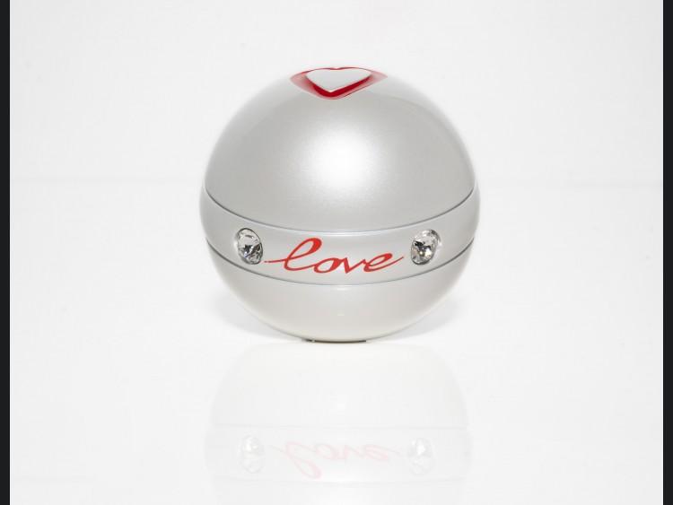 FIAT 500 Gear Shift Knob - Love w/ Swarovski Crystals