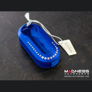 FIAT Key Cover -Swarovski Elements - Blue