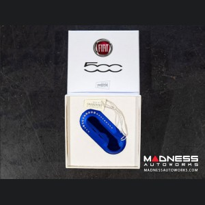 FIAT Key Cover -Swarovski Elements - Blue