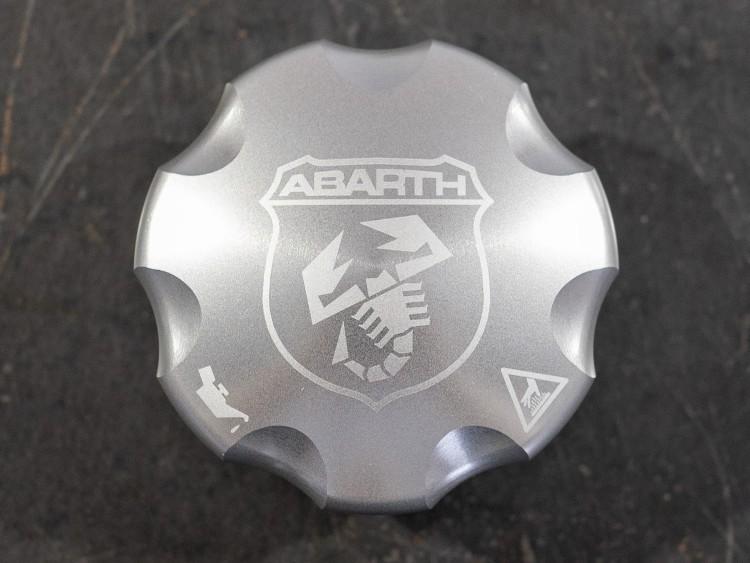 FIAT 500 Oil Cap - ABARTH Logo - European Model