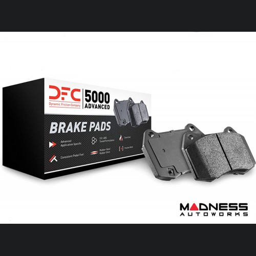 FIAT 500 Brake Pads - Front - 5000 Advanced - Dynamic Friction - ABARTH/ Turbo Models