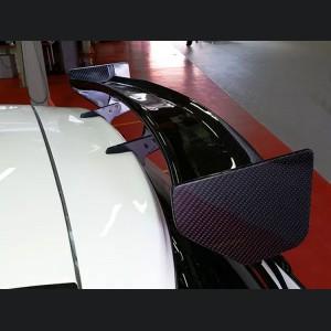 FIAT 500 Rear Roof Spoiler - Assetto Corse Style - Carbon Fiber