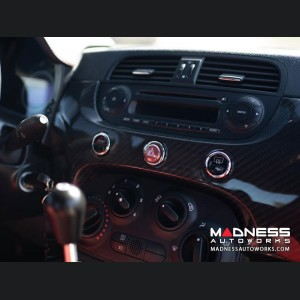 FIAT 500 Custom Dashboard - Carbon Fiber - LHD - Pre 2015