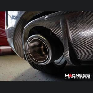 FIAT 500 Rear Diffuser - Carbon Fiber