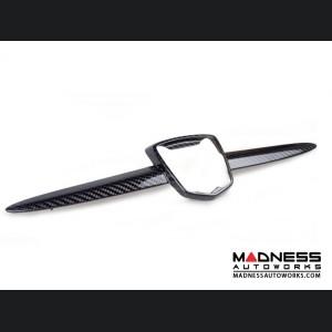 FIAT 500 Abarth Front Emblem -  Carbon Fiber