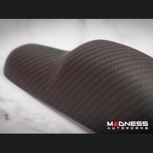 FIAT 500 Trunk Handle - Carbon Fiber - Matte