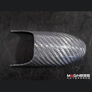 FIAT 500 Door Handles - Carbon Fiber - Silver