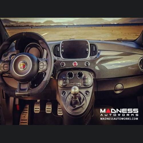 FIAT 500 Custom Dashboard - Carbon Fiber - 2016+