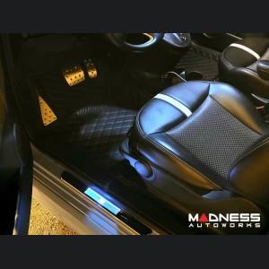 FIAT 500 Pedal Set + Footrest - Automatic - Aluminum