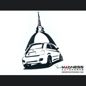 FIAT 500 Seat Cover Set - Mole Antonelliana