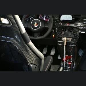 FIAT 500 Gear Shift Knob - Genuine ABARTH Biposto