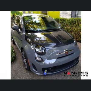 FIAT 500 Headlight & Driving Light Set - Blacked Out Look (2 pairs)