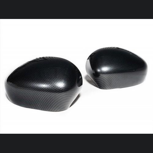 FIAT 500 Mirror Covers - Carbon Fiber Finish - Magneti Marelli