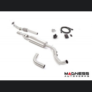 FIAT 500 Performance Exhaust - Ragazzon - Evo Line - Resonated Center Pipe Section w/ Electronic Valves