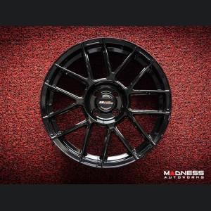 """FIAT 500 Custom Wheels - 9esse - Fondmetal - Black - 17"""""""