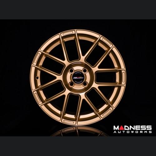 """FIAT 500 Custom Wheels - 9esse - Fondmetal - Gold - 17"""""""