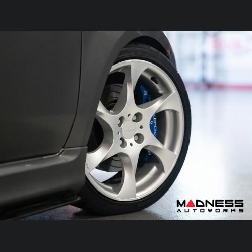 "FIAT 500 Custom Wheels by Lorinser - 7.5x17"" - Silver Finish"