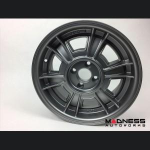 "FIAT 500 Custom Wheels - Competizione - Sportiva Design - 15"" - Gunmetal"