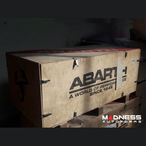 Collector Item - ABARTH Wooden Crate