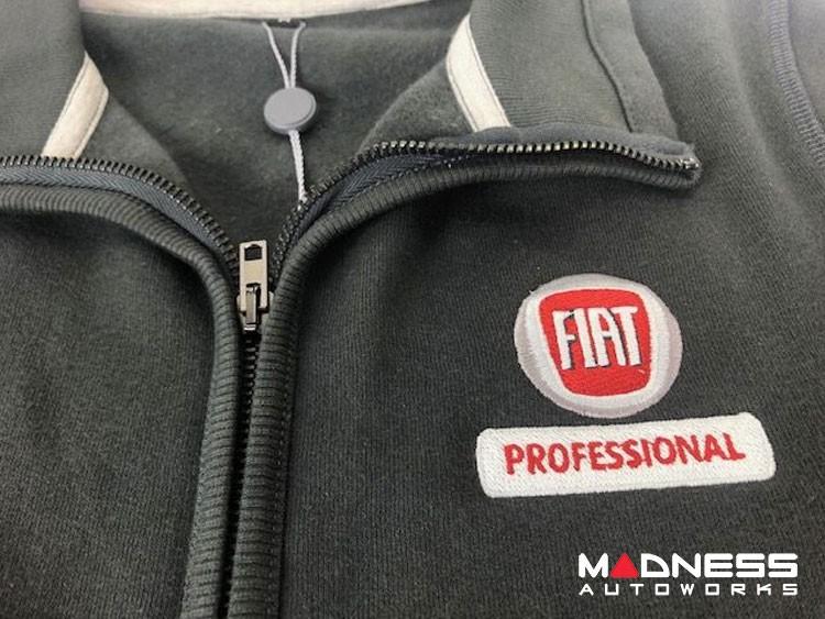 FIAT Zippered Jacket - Dark Grey - FIAT Professional - Large