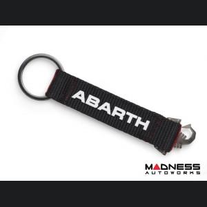 Keychain - ABARTH Nylon Strap w/ Scorpion Logo