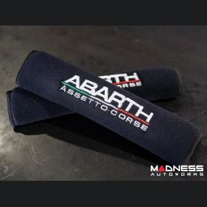 Seat Belt Shoulder Pads - set of 2 - ABARTH Assetto Corse - Black