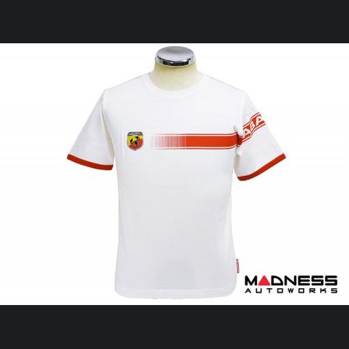 "ABARTH T-Shirt - ""Racing Stripes"" - Child - Small"
