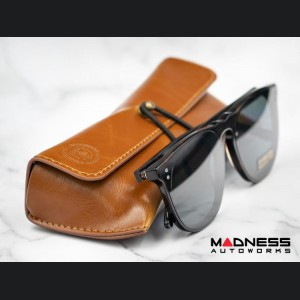 Sunglasses - ABARTH Heritage - w/ Brown Leather Case