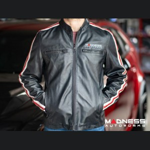 Leather Jacket - MADNESS Autoworks