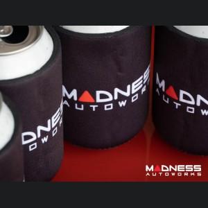 Koozies - Set of 4 - Black Neoprene w/ MADNESS Logo