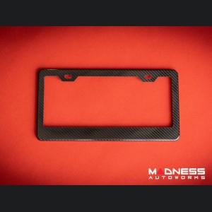 License Plate Frame - 100% Genuine Carbon Fiber