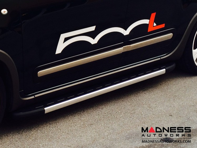 FIAT 500L Side Steps - Premier Design