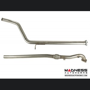 FIAT 500 Performance Exhaust - Magneti Marelli - Terminale 695 - Single Exit Race System - complete 3 piece system