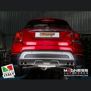 FIAT 500X Performance Exhaust by Ragazzon - Top Line - Dual Exit / Quad Tip