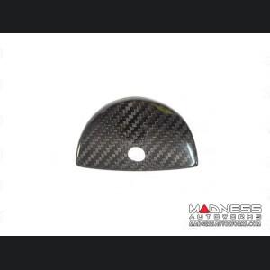 FIAT 500 Glove Box Door Handle Cover - Carbon Fiber