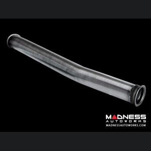 FIAT 124 Performance Exhaust by MADNESS - Monza - Dual Exit w/ Carbon Fiber Quad Tips
