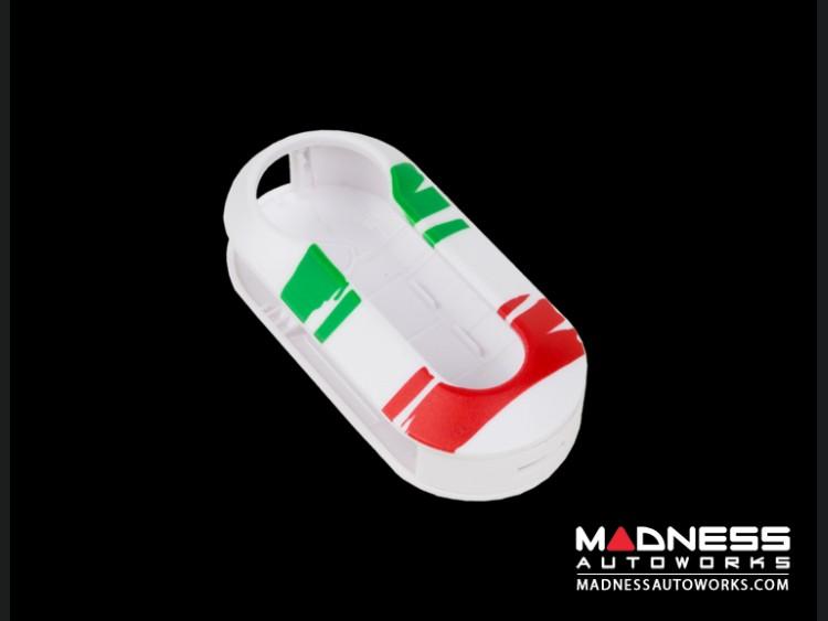 FIAT 500 Key Cover - Italian Flag