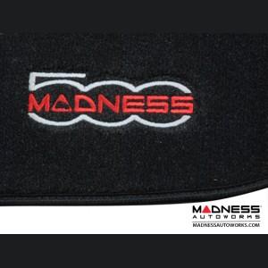 FIAT 500L Cargo Area Mat - Deluxe Carpet w/ MADNESS Logo