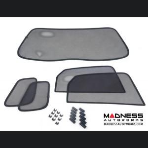 FIAT 500L Rear Window Sun Shade Kit - 5 Piece Set