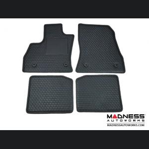 FIAT 500L Floor & Cargo Mat Set - set of 5 - Black Leather