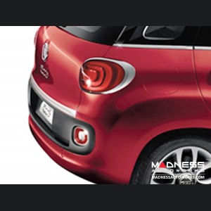 FIAT 500L Chrome Rear Hatch Door Trim - High Polished Stainless Steel