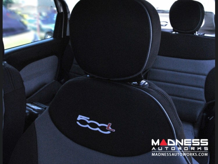 Fiat 500l Seat Covers Front Seats Only Custom Neoprene