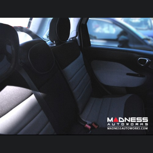 FIAT 500L Seat Covers - Rear Seats Only - Custom Neoprene Design