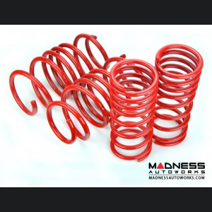 FIAT 500 Lowering Springs by MADNESS - Sport Plus - North American Version