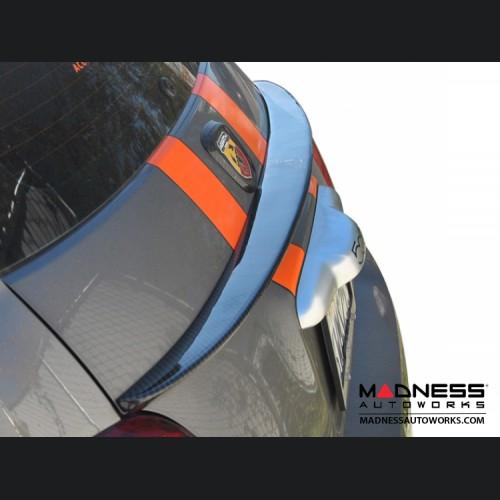 FIAT 500 Rear Decklid Spoiler - Carbon Fiber