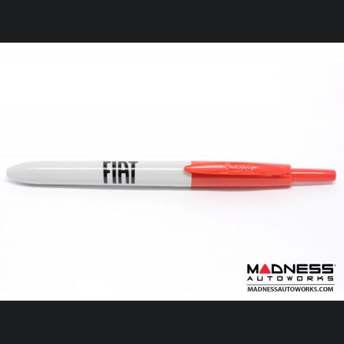 FIAT Retractable SHARPIE Pen - Red Ink