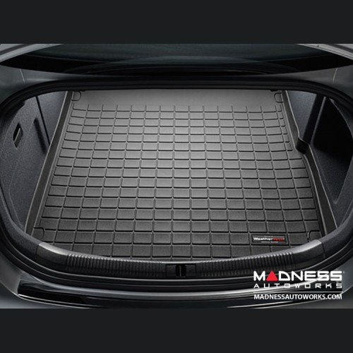 FIAT 500X Cargo Liner - All Weather by WeatherTech - Black