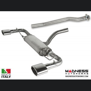 FIAT 500X Performance Exhaust - Ragazzon - Top Line - Dual Exit / Dual Oval Tip
